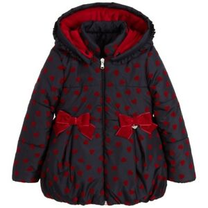 90a55300019 Image is loading LAPIN-HOUSE-BABY-GIRLS-BLUE-HEART-COAT-JACKET-