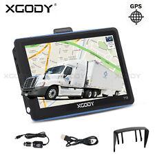 "XGODY 7"" Inch Car & Truck GPS Navigation Navigator Sat Navi 8GB Canada Mexico US"