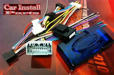 Chrysler Radio WIRE HARNESS w PREMIUM Amp Install Aftermarket Stereo PLUG CH4