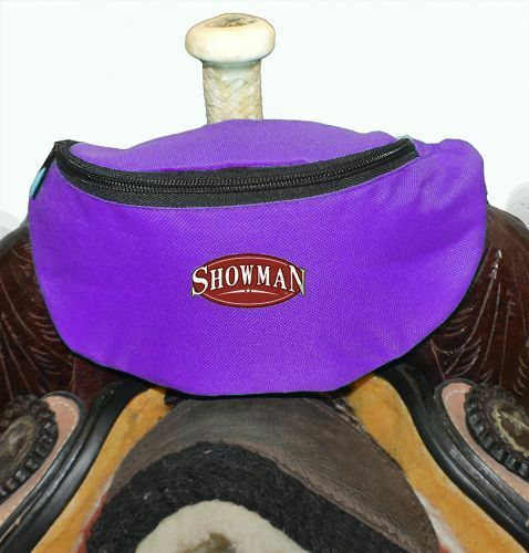 Bag Attaches to your Saddle Many Colors Western Horse Saddle Sack Lined Pouch
