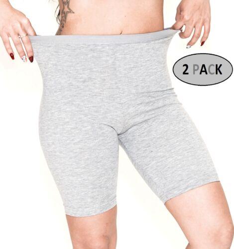 Women/'s 2 Pack Cotton Active Dance Running Yoga Boyshorts Boxer Brief