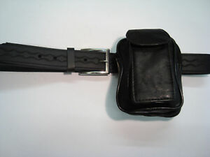 Soft Leather Belt Pouch for Phone Travel, Every Day Use