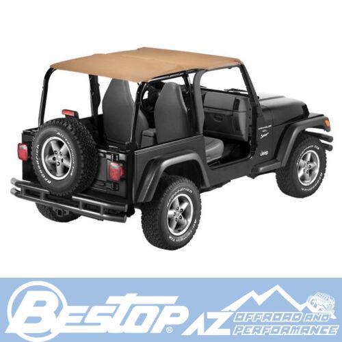 Bestop Bikini Safari Version Spice fits 1997-2002 Jeep Wrangler TJ 52530-37