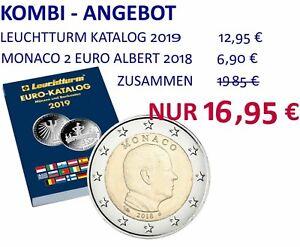 Sparangebot Leuchtturm Euro Katalog 2019 Mit Monaco 2 Euro Münze