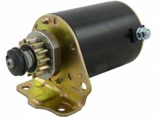 Motor de arranque se ajusta Briggs and Stratton 12 voltios 14 dientes Reemplaza OEM 693551