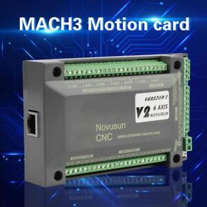 NVEM-CNC-Controlador-6-Eje-MACH3-Ethernet-Interfaz-Tarjeta-de-Control-Movimiento