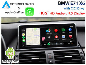 BMW-E71-X6-CIC-iDrive-Android-Auto-amp-Apple-CarPlay-10-2-034-Android-9-0-display