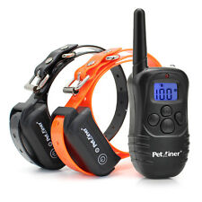 330 Yards Waterproof Rechargeable Electric Control Pet Dog Shock Training Collar