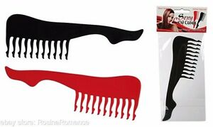 Sexy-Leg-Shaped-Novelty-Hair-Comb-Hairdresser-Joke-Funny-Party-Gift-Present