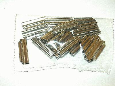 20 Stück Fleischmann 6434 H0 Metall-Schienenverbinder + + NEU /& OVP