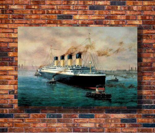 Last Survivor of The Titanic Print T1997 24x36 Silk Poster MILLVINA DEAN Signed