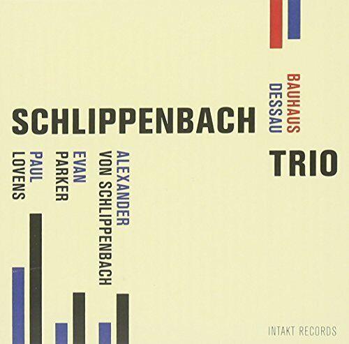 Schlippenbach Trio - Bauhaus Dessau [CD]