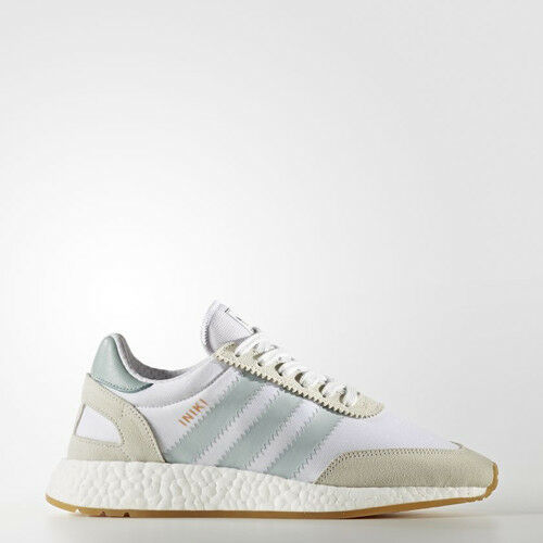 Adidas BY9092 Women INIKI Running shoes white green brown Sneakers