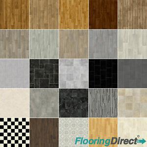 Quality Non Slip Vinyl Flooring Lino Kitchen Bathroom Cushion Floor