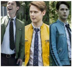 Dirk-Gently-Holistic-Detective-Agency-Samuel-Barnett-Leather-Jacket