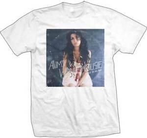 Graphic T-Shirt Amy Winehouse in Profile Super-Soft Gildan T-Shirt