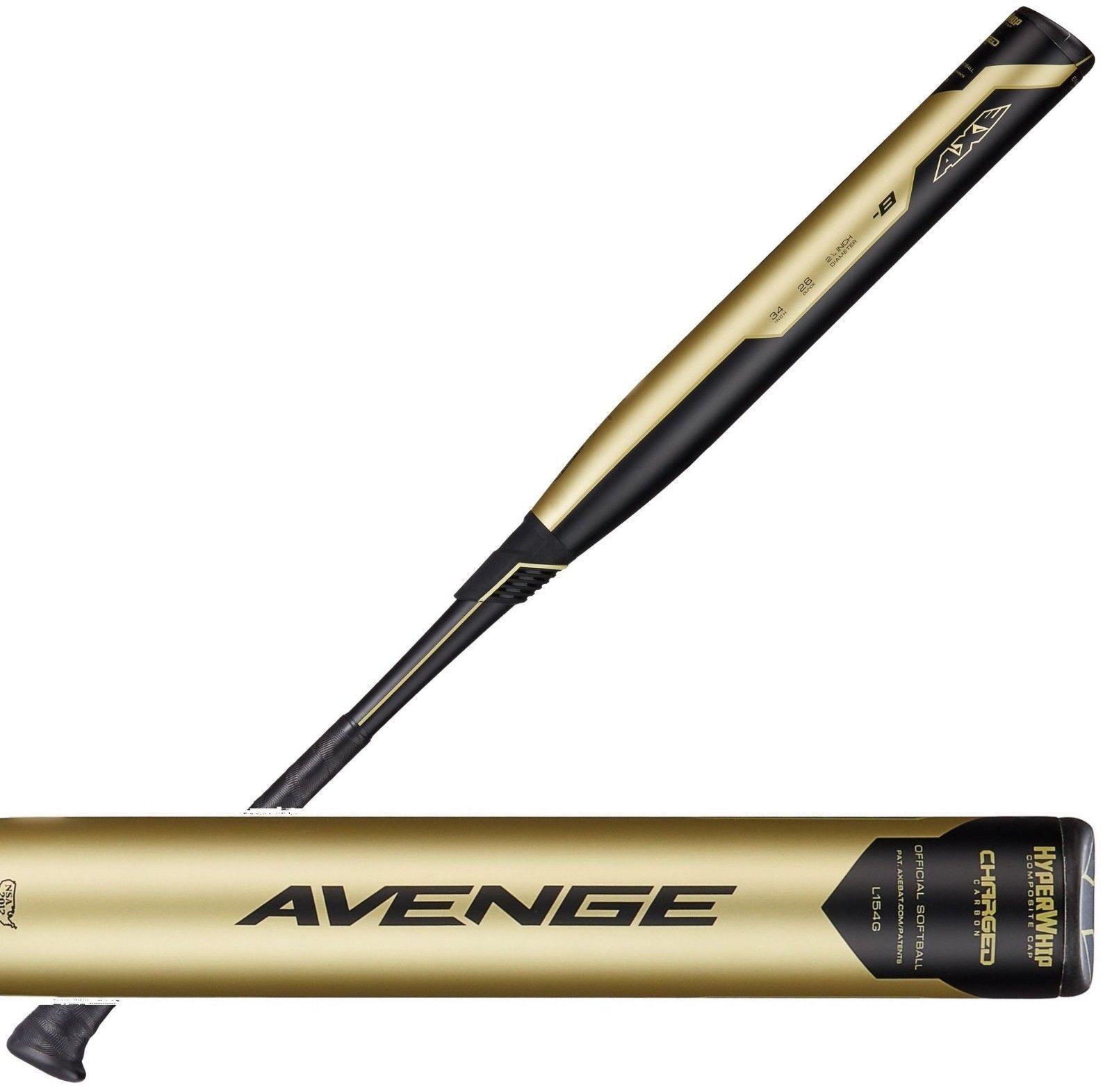2019 Axe Avenge Balanced 34  27 oz. USSSA Slowpitch Softball Bat L154G