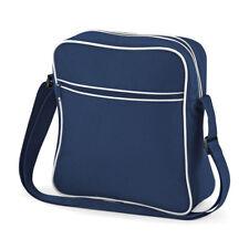 cd59863f1b60 BagBase Retro Mini Flight Bag Stylish Messenger Shoulder Flight Travel  Handbag