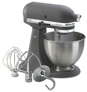 Details about New Made USA KitchenAid Ultra Power KSM95gr 10-speed Stand  Mixer 4.5-quart Grey