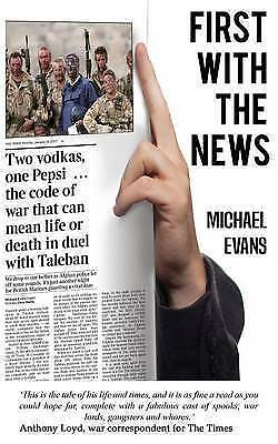 First with the News, Evans, Michael, Used; Good Book