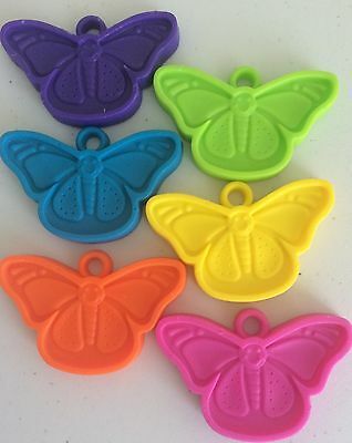 10 x plastic butterfly balloon weights