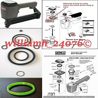 Senco SFN1 BF0073 Cylinder Seal replacement SKS SPS YJ0035 cylinder upgrade