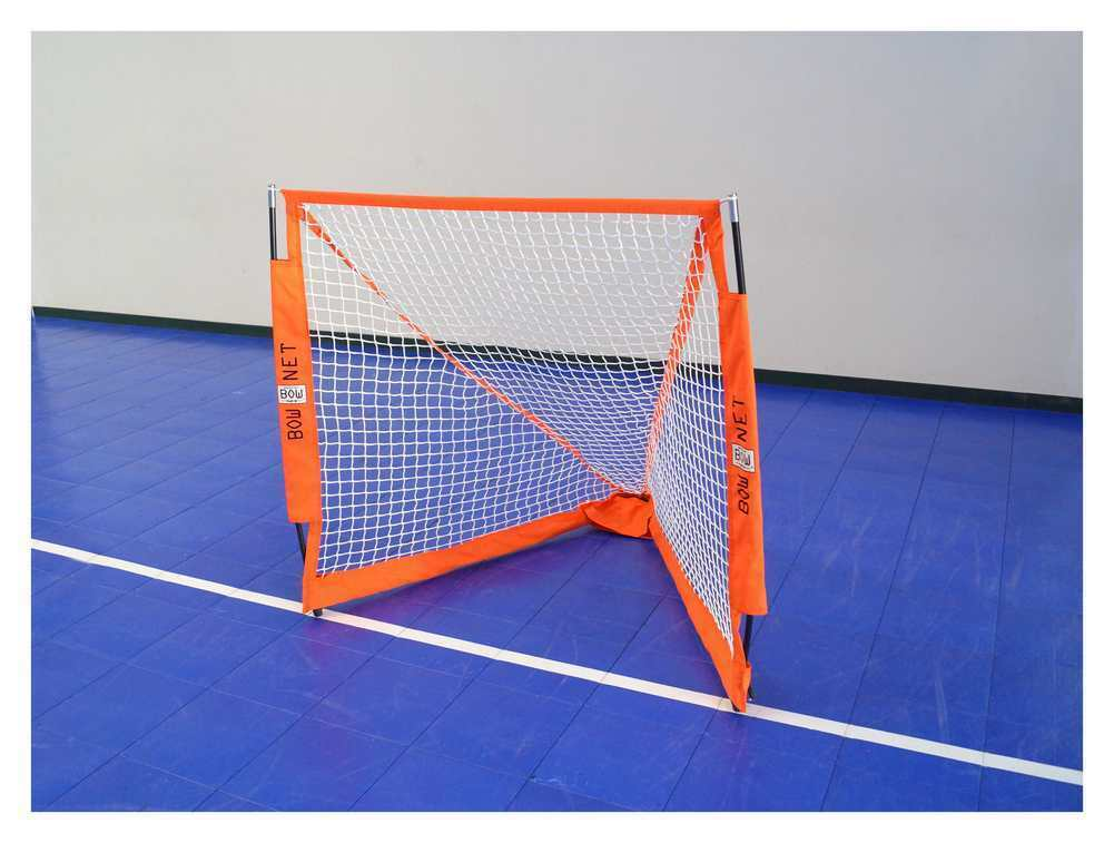 BowNet Lacrosse Box 4'6 x4' Portable Goal Net with Carry Bag - BowLAX4-6Box