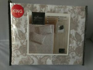 Urban-domain-100-cotton-King-Sheet-Set
