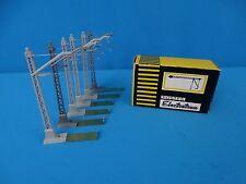 Electrotren 252 Catenary Masts Grey set of 6 pcs.
