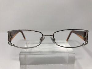 1f7fa30d291 DKNY Eyeglasses DY5575 1002 52-15-135 Purple Clear Chrome Silver ...