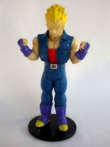 Atlas-Figurine-DRAGON-BALL-Z-vegeta-ssj-sur-socle-vintage-annee-90