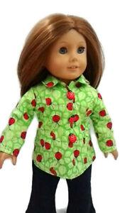 Ladybug-Spring-Jacket-fits-American-girl-dolls-18-034-Doll-Clothes