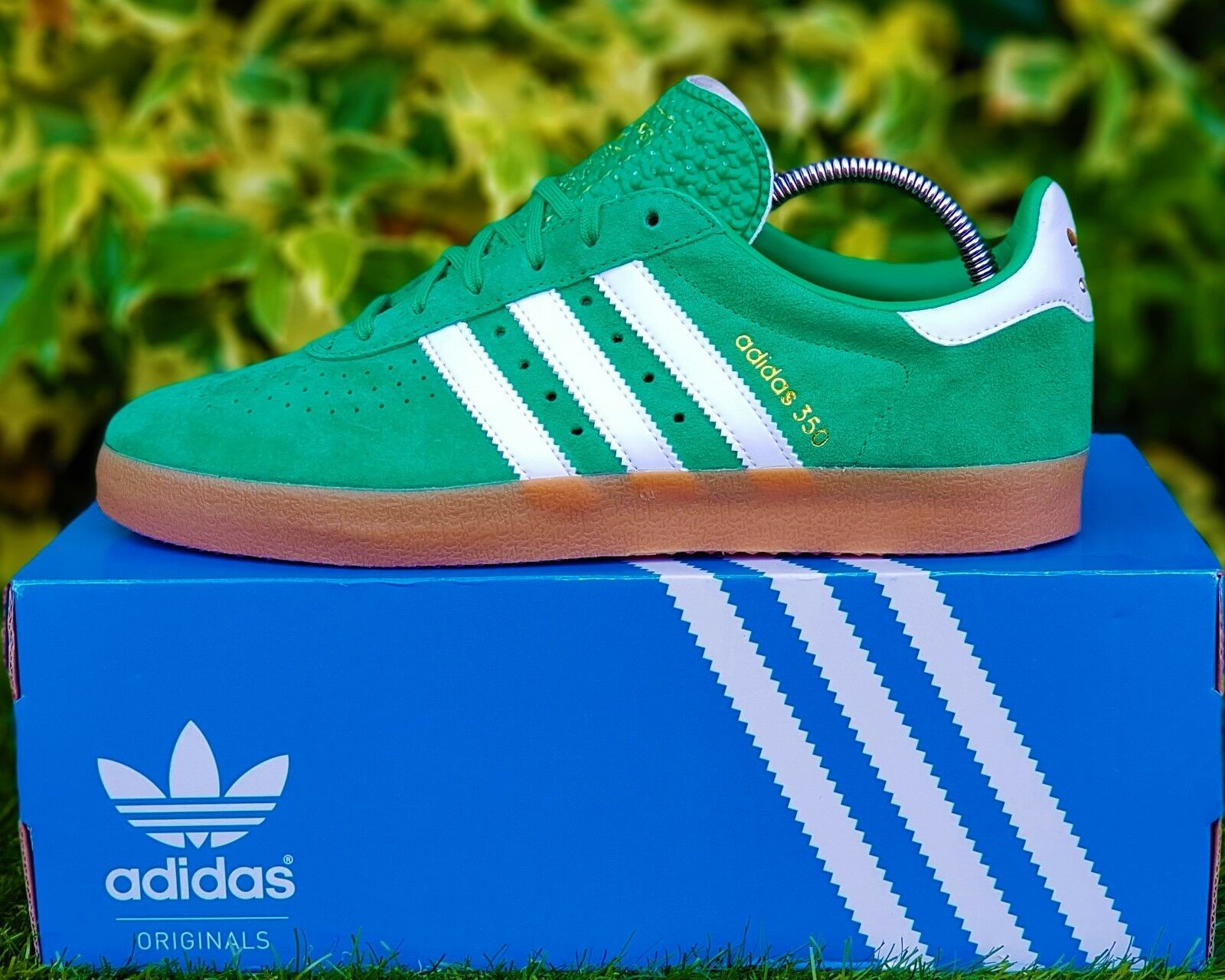 BNWB & Genuine Trainer adidas originals ® 350 Trainer Genuine Retro Green Trainers UK Size 10 77042e