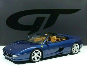 Ferrari F355 Gts Spyder Baujahr 1995 Tour De France Blue 1 12 Gt833 Gt Spirit Ebay