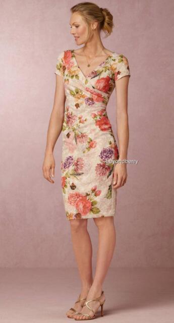 ac4b73fb90b8 NEW BHLDN Anthropologie Coraline Dress by Adrianna Papell Size 12 & 14 $220