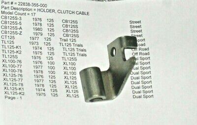 Speedo Cable Honda CB 125-S 1976 125 CC