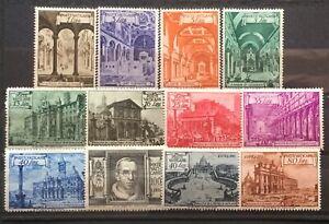 Vaticano-1949-basiliche-serie-completa-mlh-con-espressi
