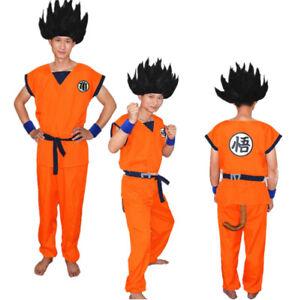 Image is loading Anime-Dragonball-Z-Cosplay-Son-Goku-Pants-Turtle-  sc 1 st  eBay & Anime Dragonball Z Cosplay Son Goku Pants Turtle Costume Halloween ...
