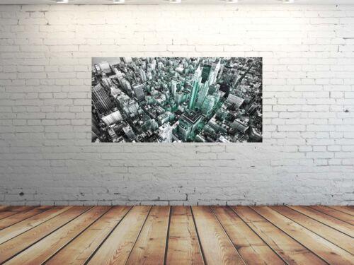 HD imagen de vidrio eg4100500905 New York EE ciudad Mint 100 x 50 cm de pared ciudad de imagen UU