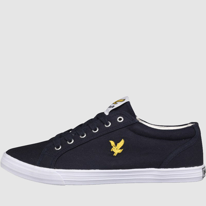 New  Herren Branded Lyle And Scott Scott Scott Casual Canvas Lace Up Pumps Trainers Größe 6-12 f3a494