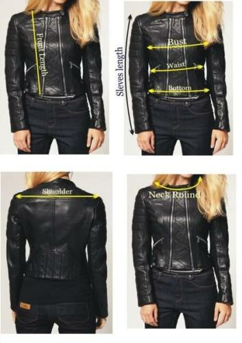 Exclusive Biker 36 amp; Stylish 100 Sexy Genuine Offer Women's Hot Jacket Leather qrBnFgqwT6