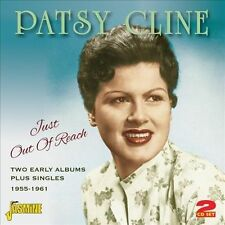 Just Out Of Reach: Two Early Albums Plus Singles 1955-1961 by Patsy Cline...