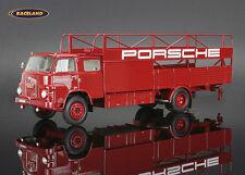 MAN 415F Renntransporter Porsche AG Stuttgart 1961, Schuco 1:43, 450894400, NEW