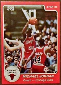 Details About 1984 85 Michael Jordan Star Rookie Reprint Card Beautiful Card Mint 101