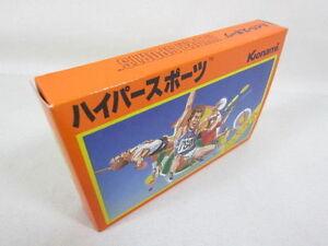 Hyper-Sports-Brand-NEW-Famicom-Nintendo-Konami-Game-fc