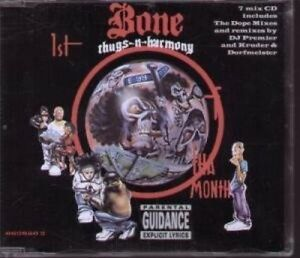 Bone-Thugs-n-Harmony-1st-of-tha-month-1995-7-versions-Maxi-CD