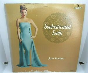 Julie-London-Sophisticated-Lady-Vinyl-LP-Liberty-Records-LRP-3203-Monaural