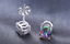 3-5-Carat-Mystic-Topaz-Leverback-Earrings-in-18K-White-Gold-Plated-ITALY thumbnail 13