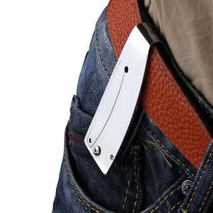 Taschen-faltender-Messer-Money-Angeln-Camping-Wandern-Klappmesser-Werkze