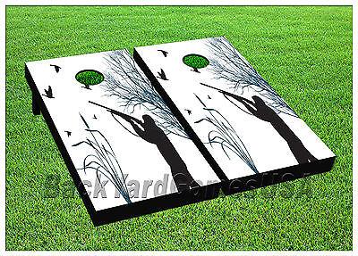 Outdoor Sports Vinyl Wraps Cornhole Boards Decals Duck Hunter Bag Toss Game Stickers 676 Wide Varieties Backyard Games